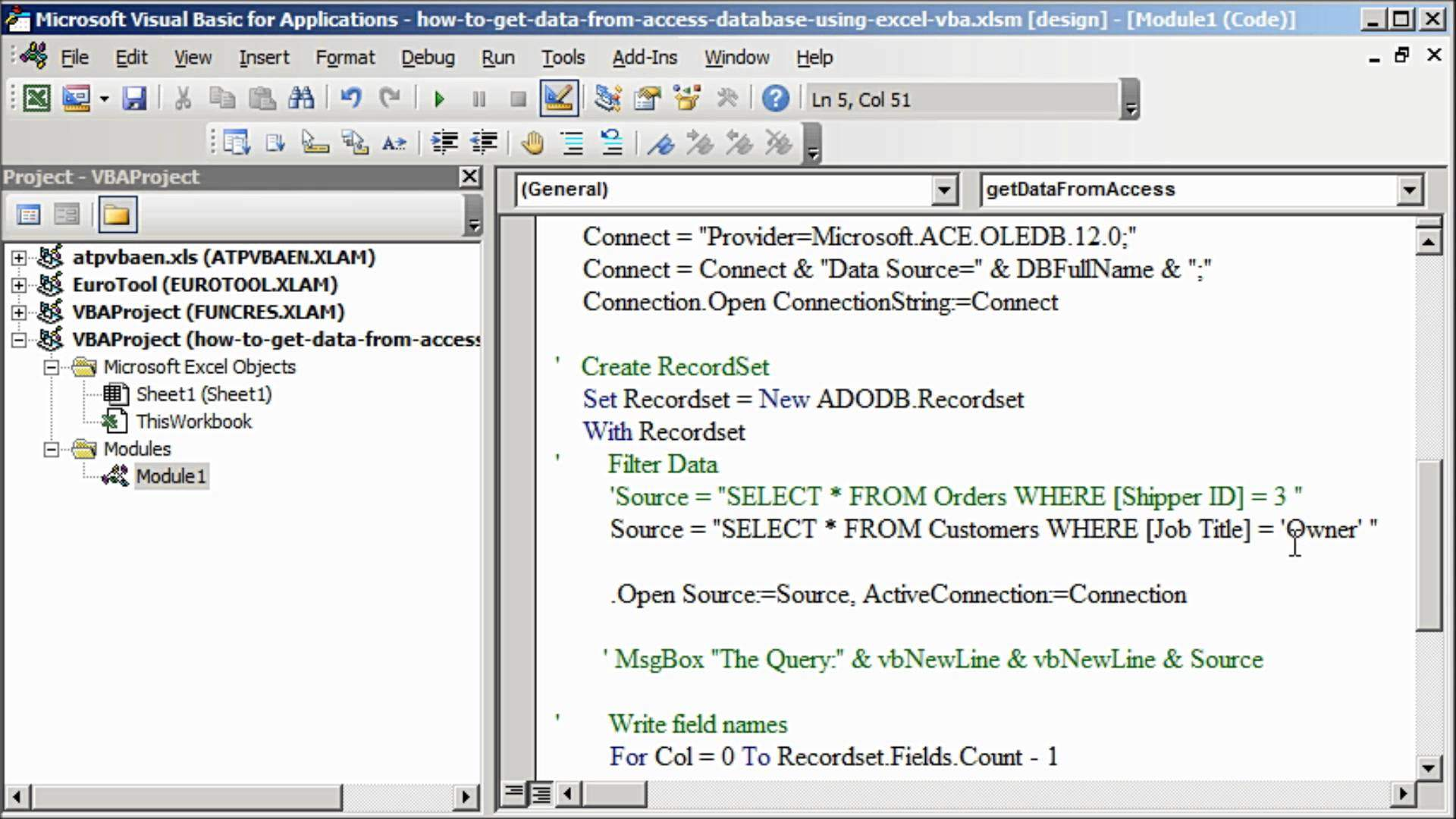 Access & Excel Integration with VBA | Welkin Systems Limited