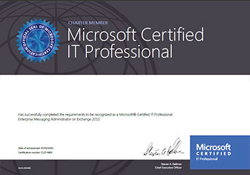 Microsoft Technical Certification, MCP | Welkin Systems Limited