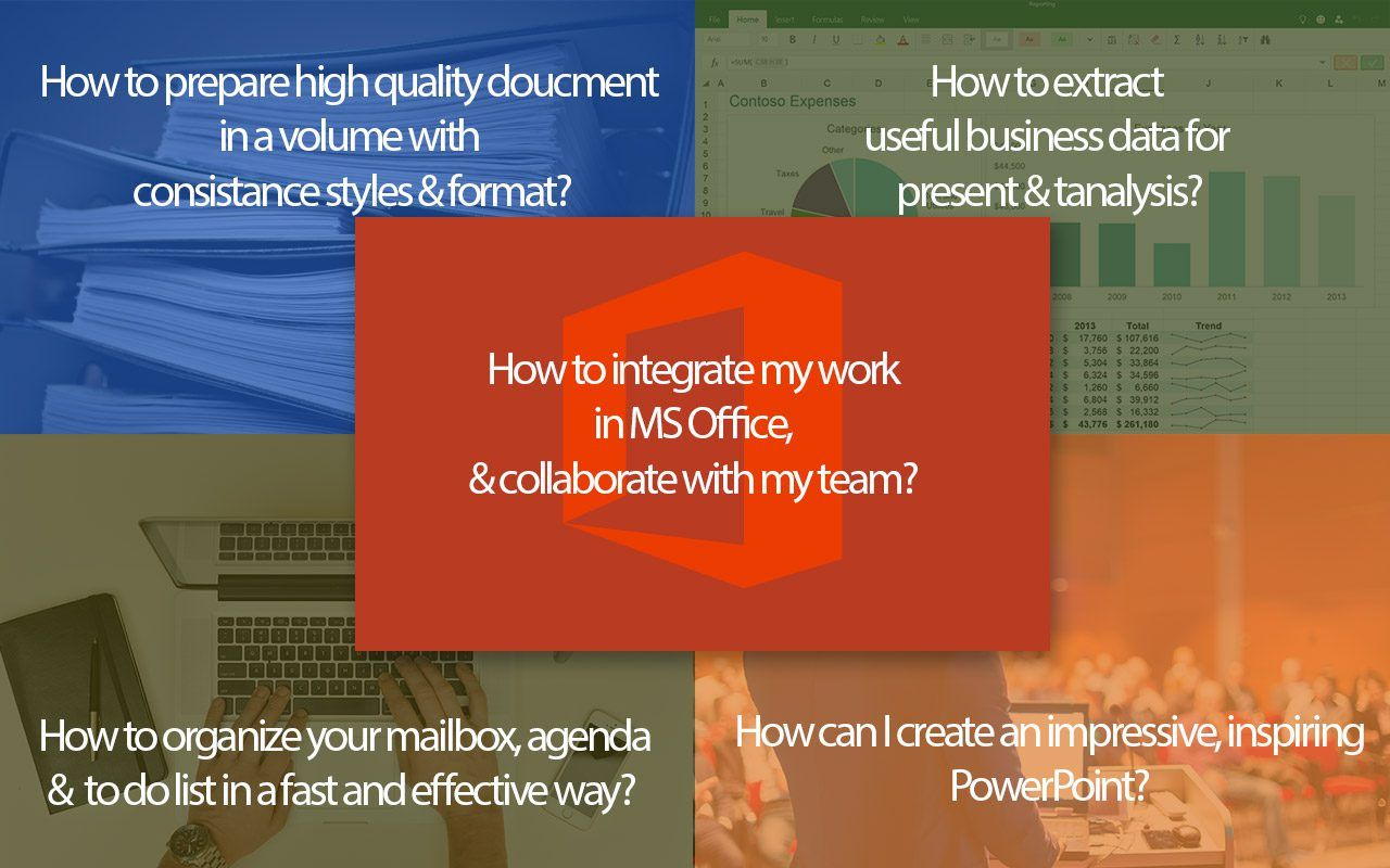 What you can learn from Effective Use of Microsoft Office in Business?
